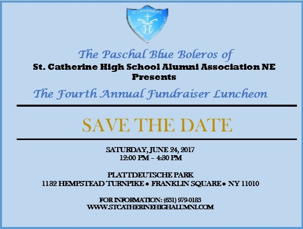 Paschal Blue Boleros 4th Annual Fundraising Luncheon- June 24, 2017